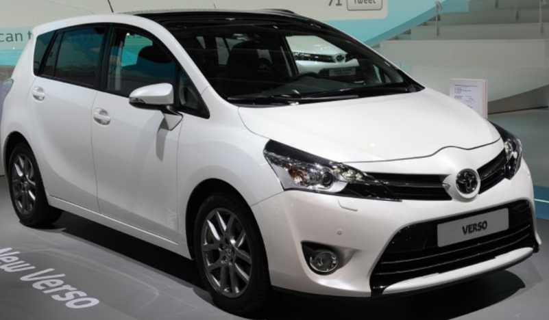 14 A 2020 Toyota Verso Speed Test