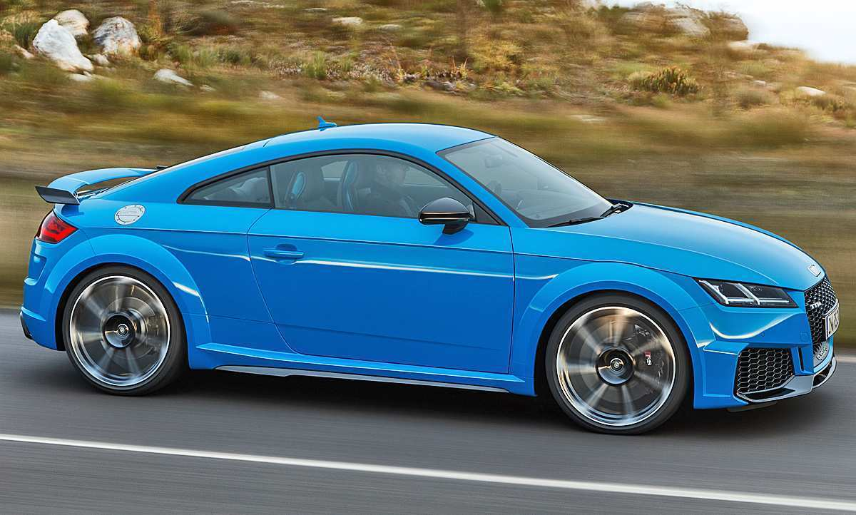 14 All New 2019 Audi Tt Rs Redesign And Concept