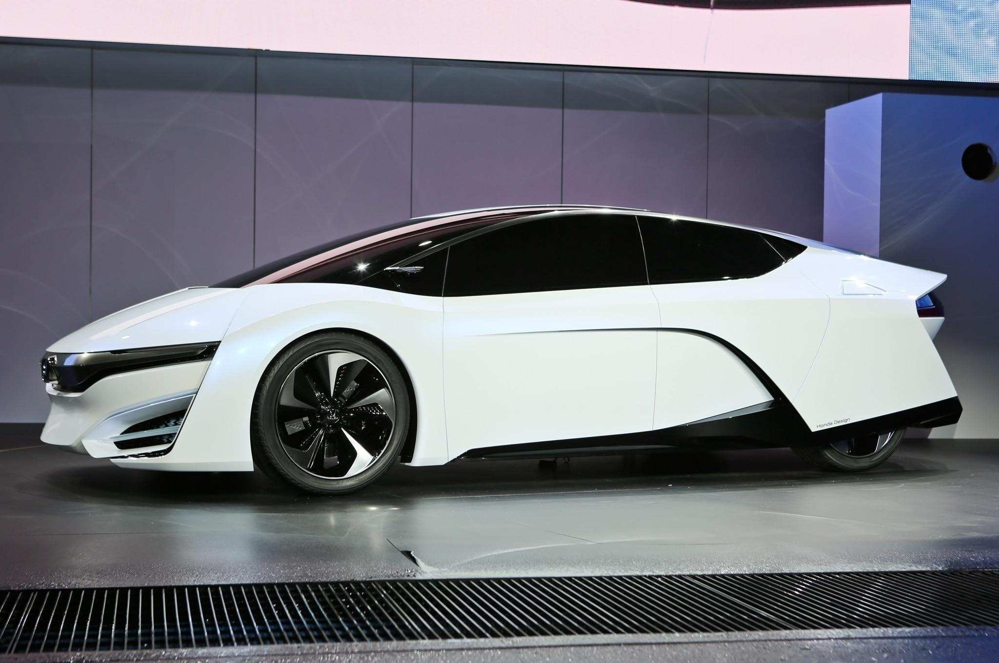 14 All New 2019 Honda Fcev Concept And Review