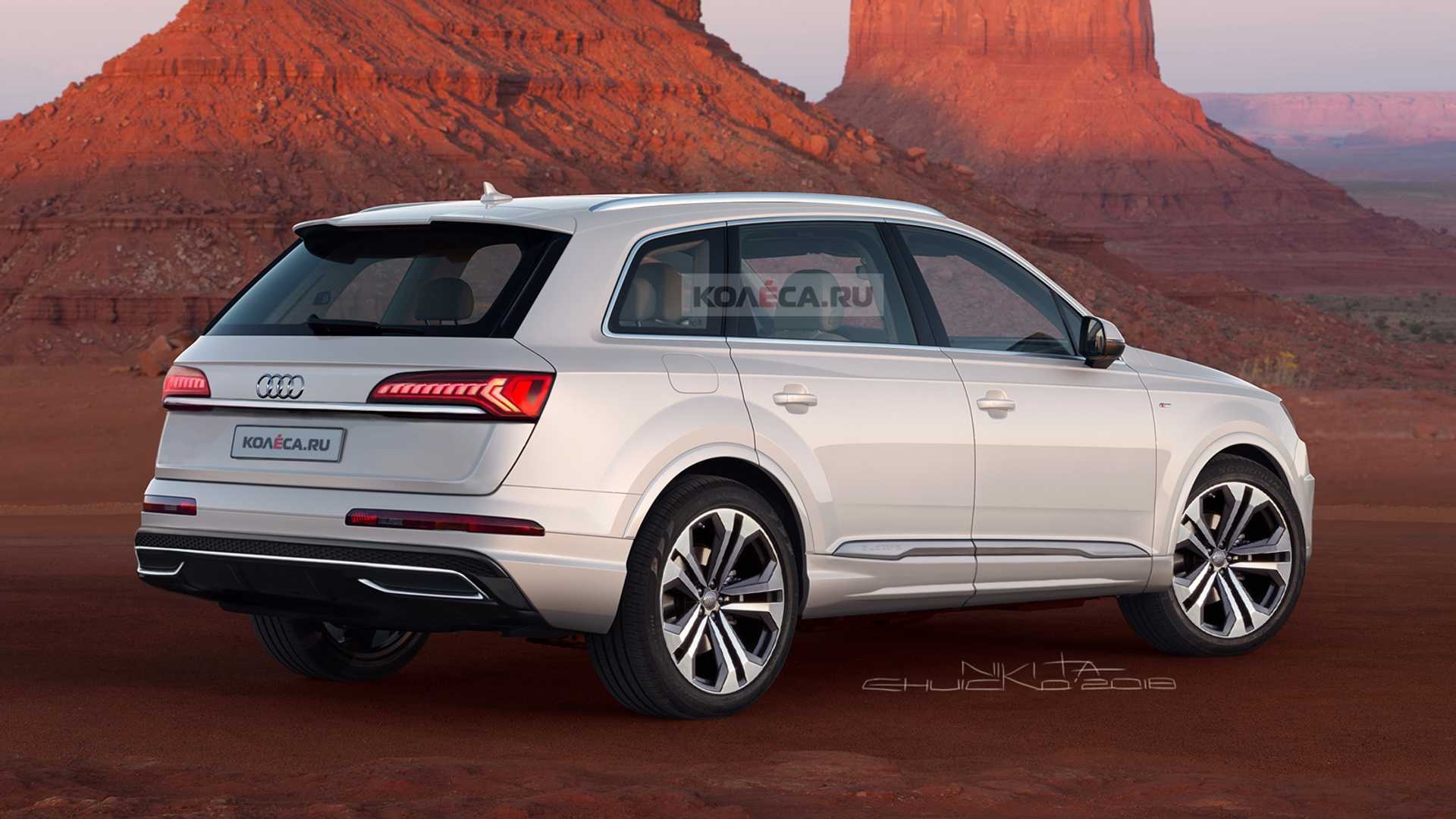 14 All New 2020 Audi Q7 Redesign And Concept