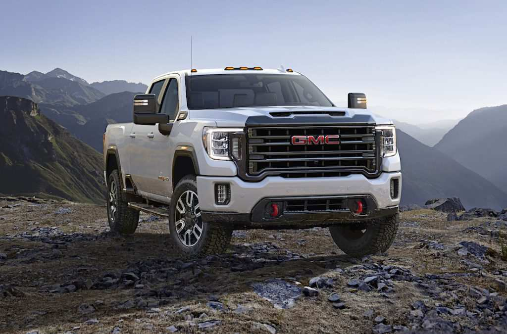 14 All New 2020 GMC Sierra 2500Hd Gas Engine Picture