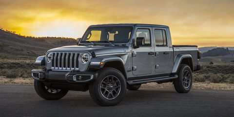 14 All New 2020 Jeep Gladiator Spy Shoot