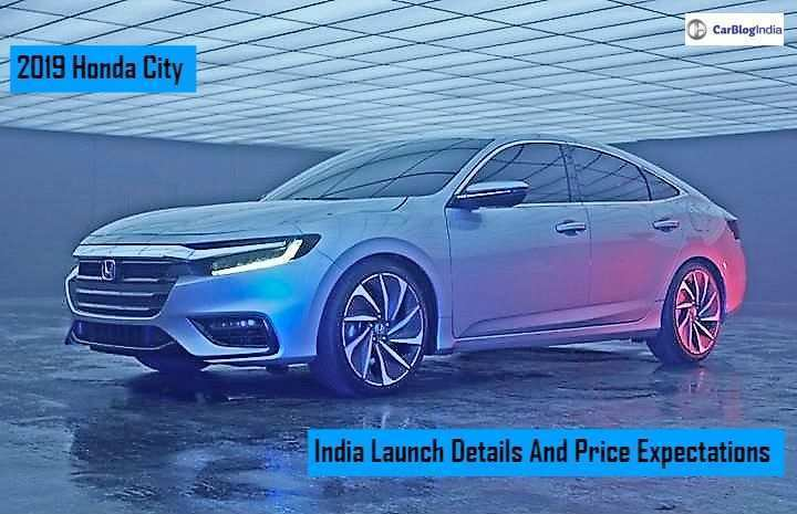 14 The 2019 Honda City Review And Release Date