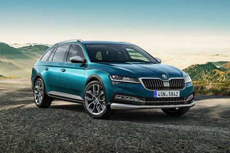 14 The 2019 Skoda Scout Images