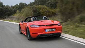 14 The 2020 Porsche Boxster S Ratings