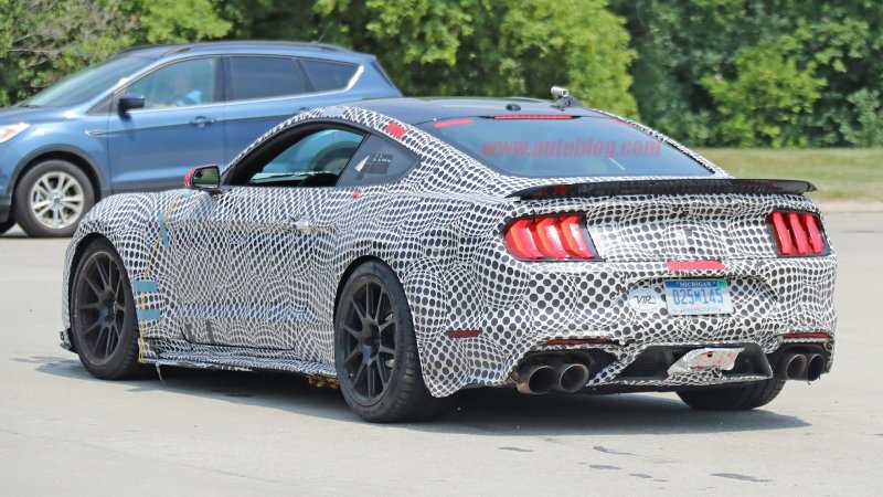 14 The Best 2019 The Spy Shots Ford Mustang Svt Gt 500 Engine