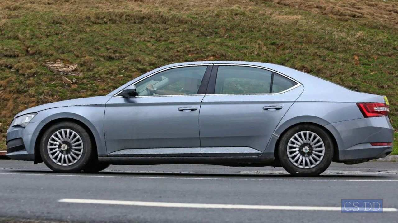 14 The Best 2019 The Spy Shots Skoda Superb Price