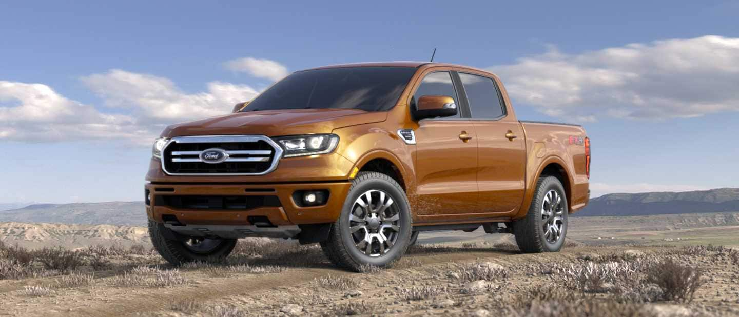 14 The Ford Ranger 2020 Model Spy Shoot