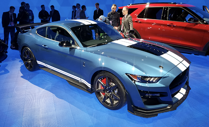 15 A 2019 Mustang Gt500 Overview