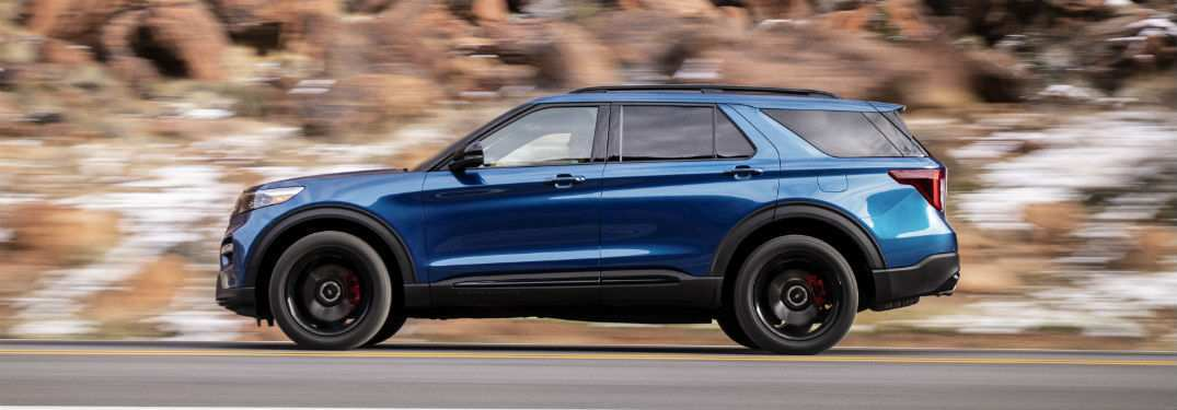 15 A 2020 The Ford Explorer Configurations