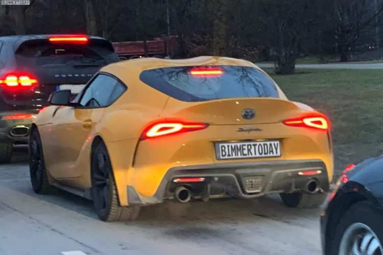 15 A Toyota Supra 2019 Photos