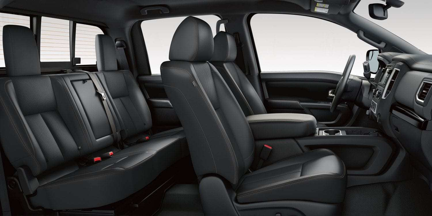 15 All New 2019 Nissan Titan Interior Release Date