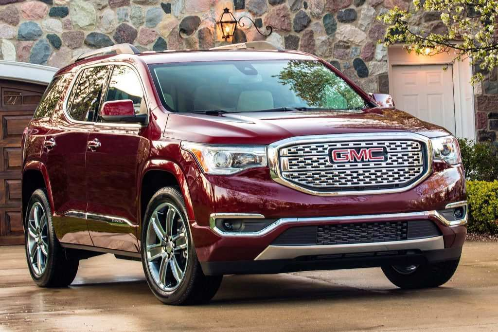 15 All New 2019 Vs 2020 GMC Acadia Picture