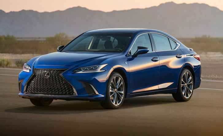 15 All New Lexus Es 2019 Debut Images