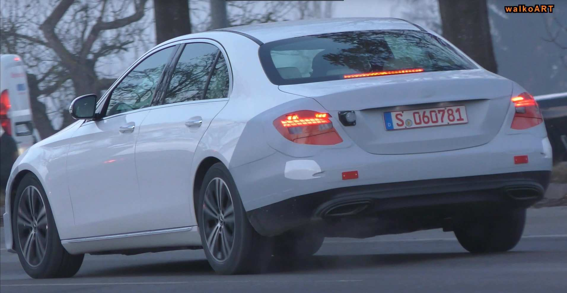 15 All New Mercedes E Class Facelift 2019 Spy Shoot