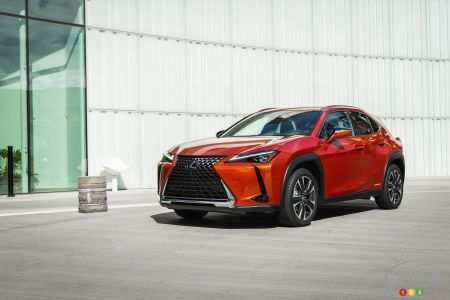 15 The 2019 Lexus Ux Canada Spy Shoot