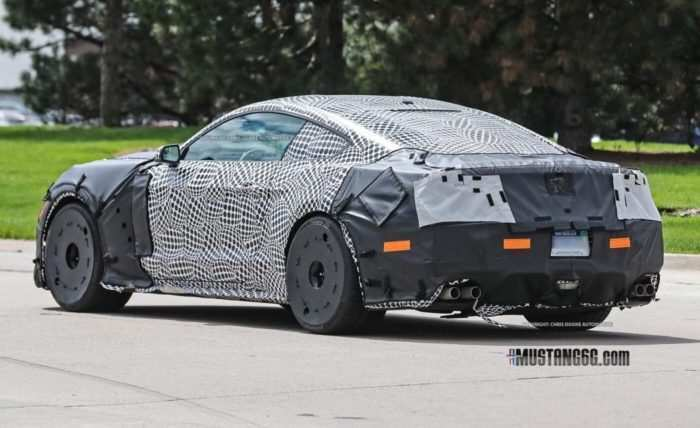 15 The 2020 The Spy Shots Ford Mustang Svt Gt 500 Speed Test