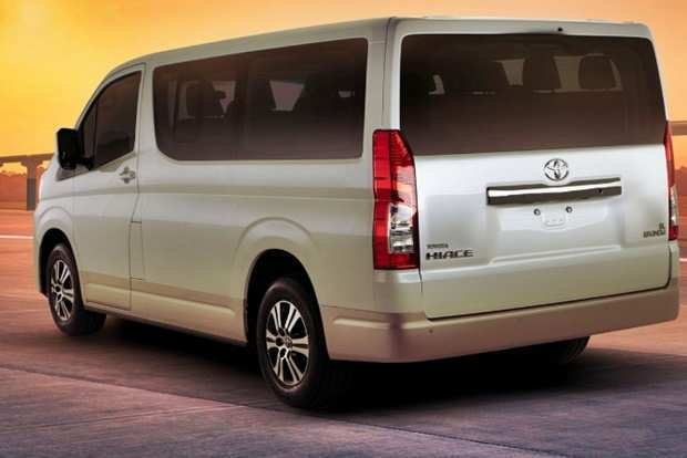 15 The 2020 Toyota Hiace Spy Shoot