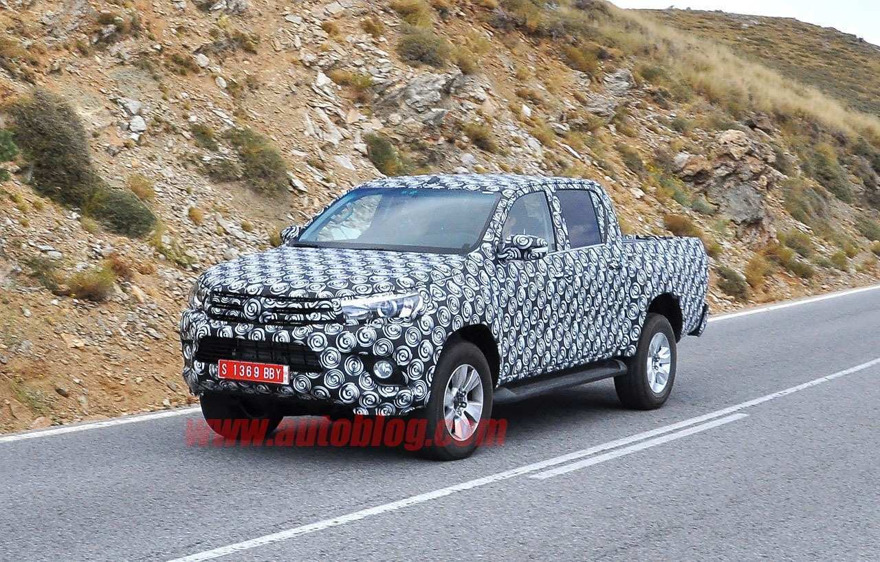 15 The Best 2019 Toyota Hilux Spy Shots Photos