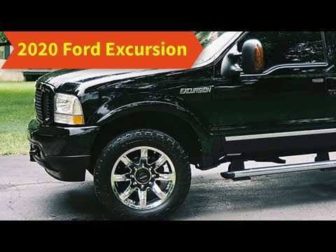 15 The Best 2020 Ford Excursion Spy Shoot