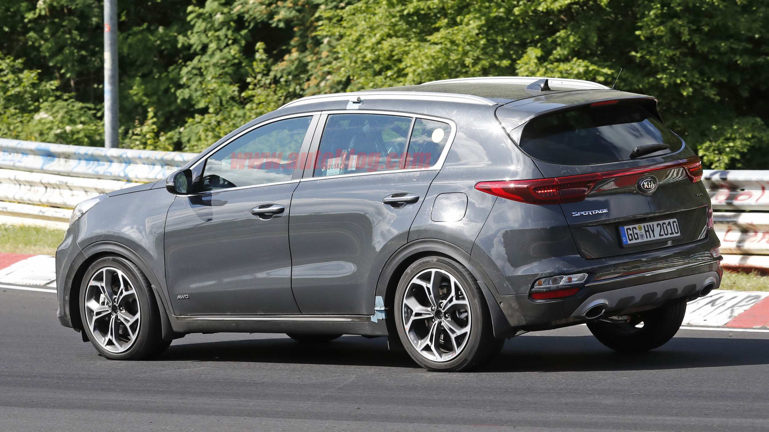 15 The Best 2020 KIA SportageSpy Shots Ratings