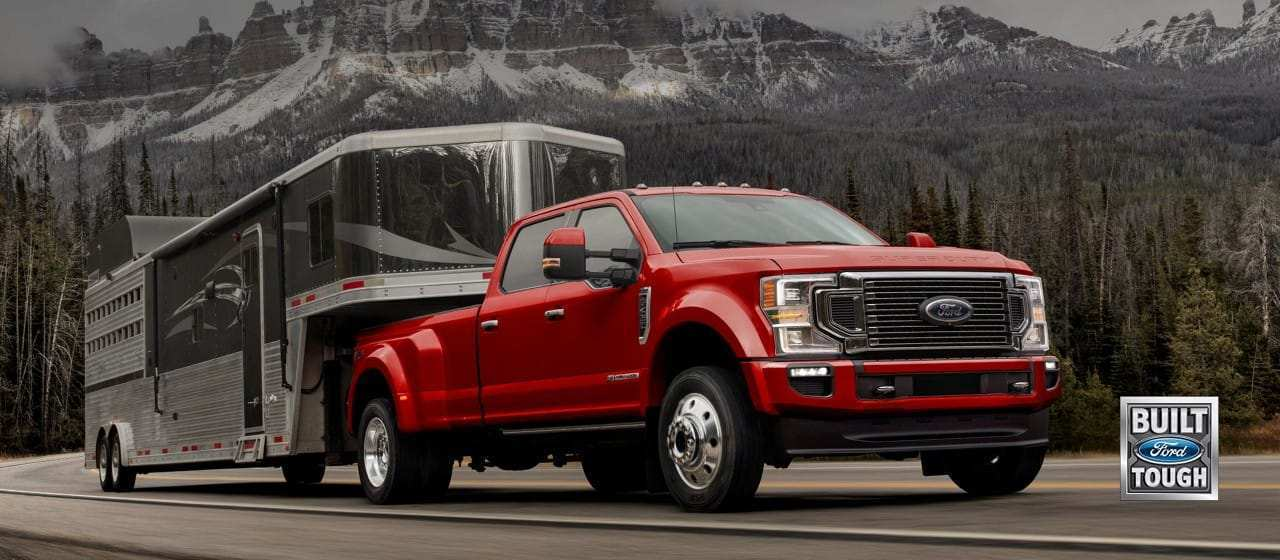 16 A 2020 Ford F250 Spy Shoot