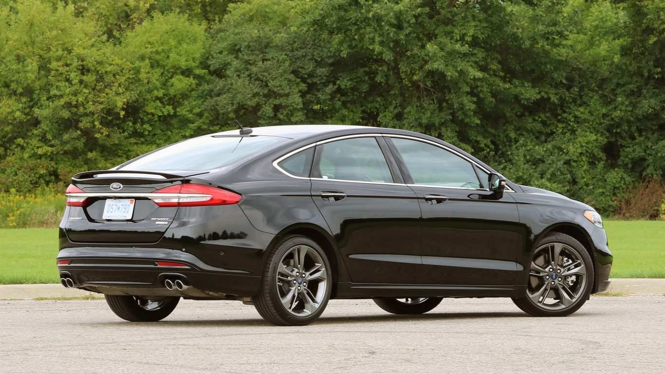 16 A 2020 Ford Fusion Wallpaper