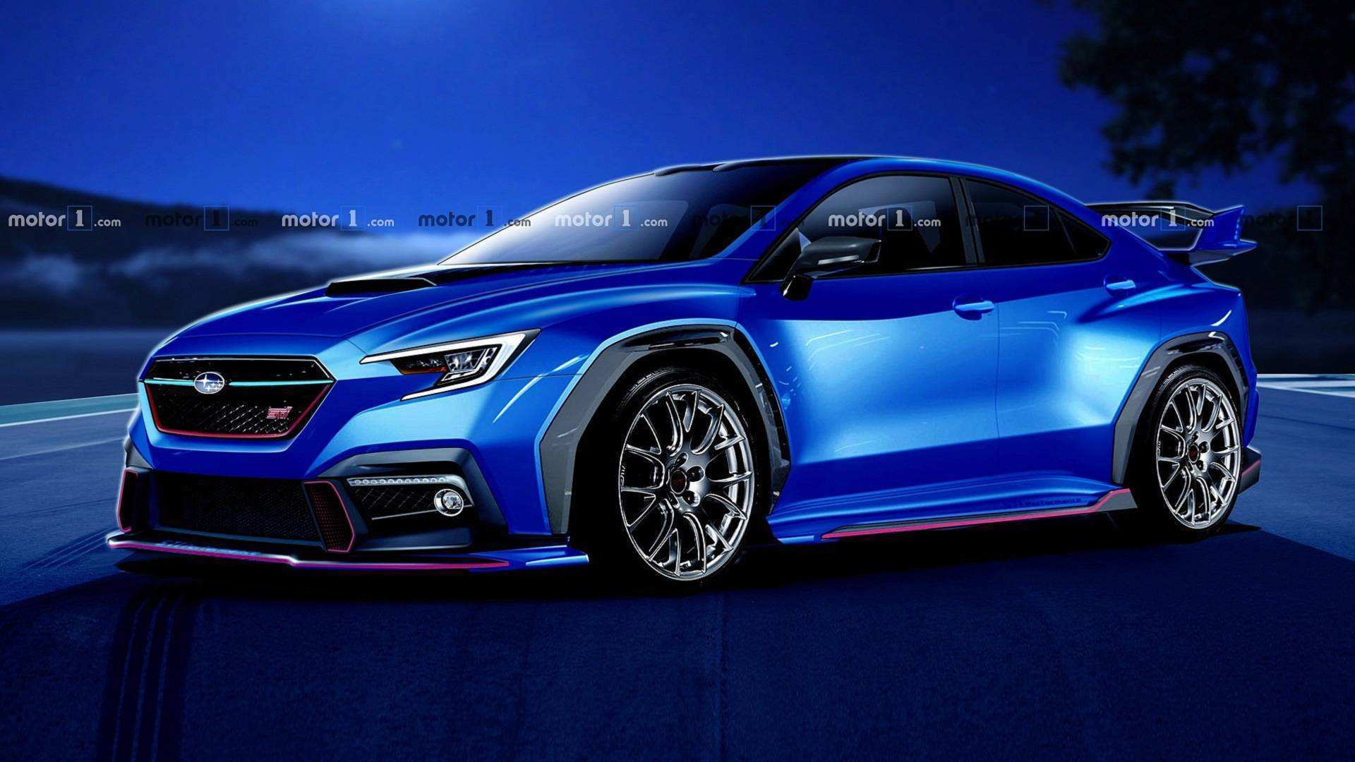 16 A 2020 Subaru Wrx Spy Shoot