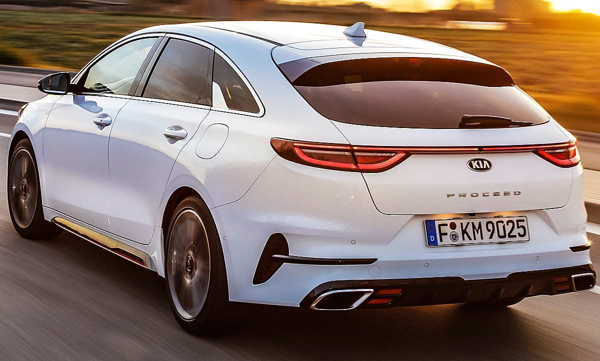 16 A Kia Pro Ceed Gt 2019 Configurations