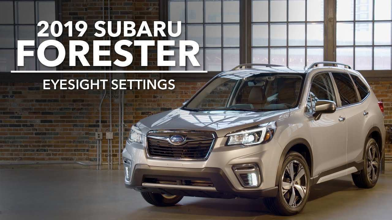 16 A Subaru Eyesight 2019 Configurations