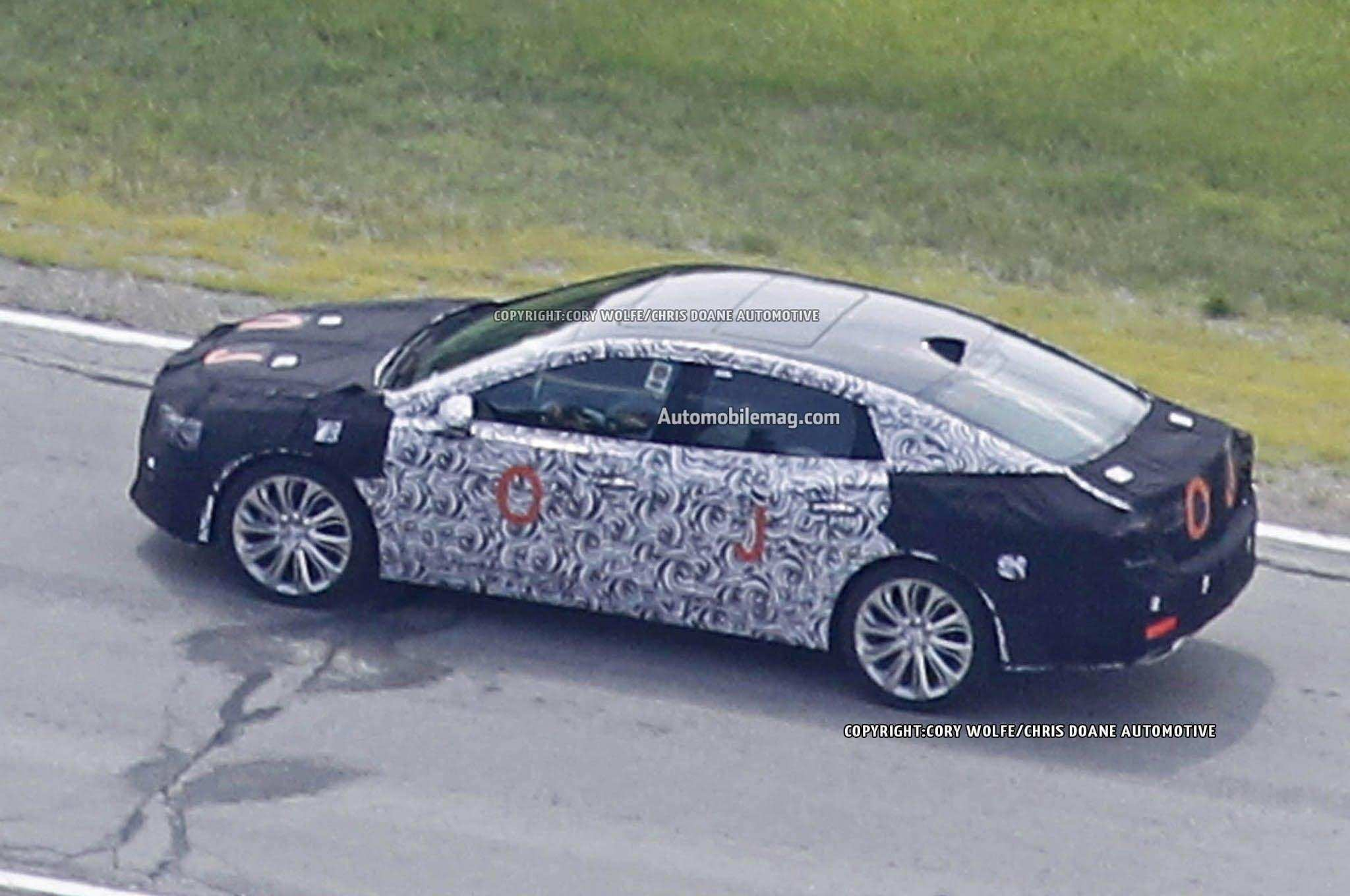 16 All New 2019 Buick Verano Spy Style