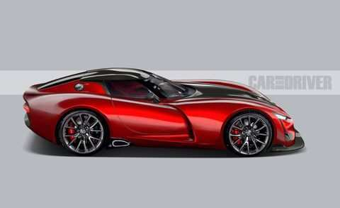 16 All New 2019 Dodge Viper Roadster Exterior