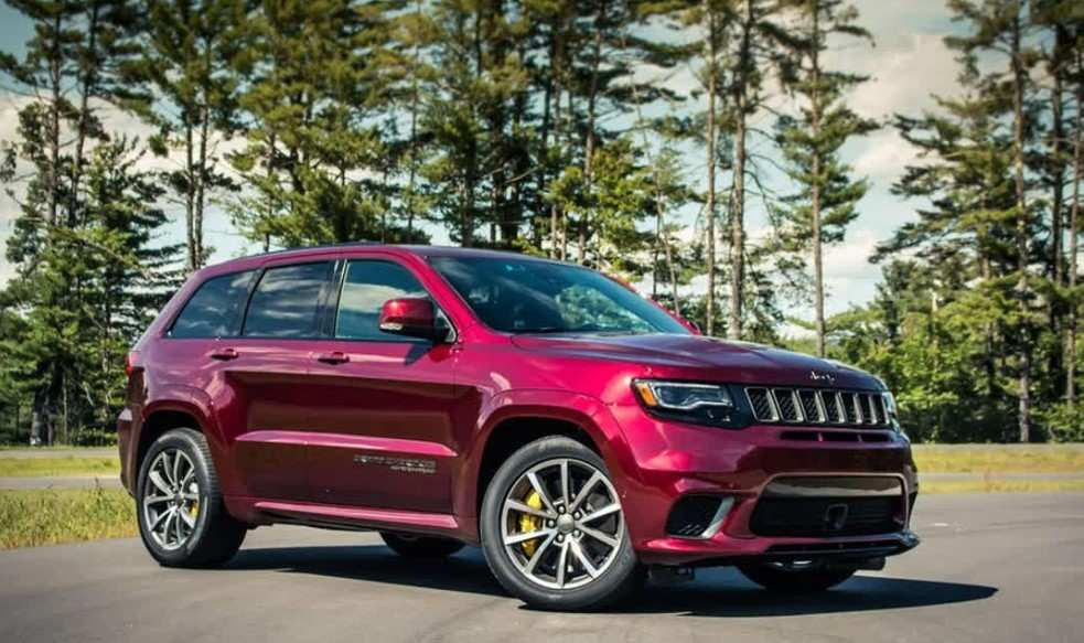 16 All New 2019 Grand Cherokee Srt Hellcat First Drive