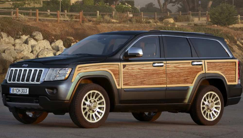 16 All New 2019 Jeep Grand Wagoneer Wallpaper