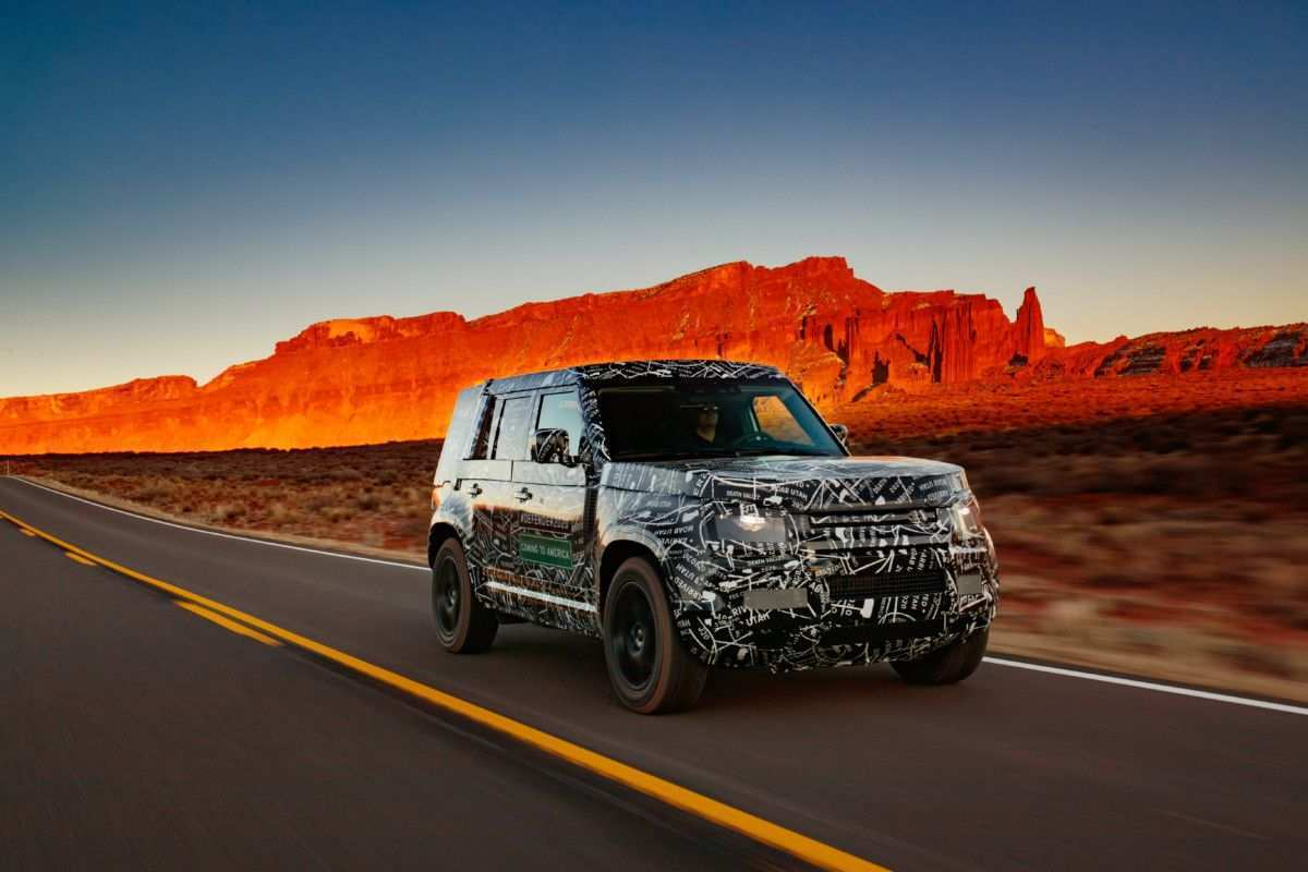 16 All New 2019 Land Rover Defender Pictures