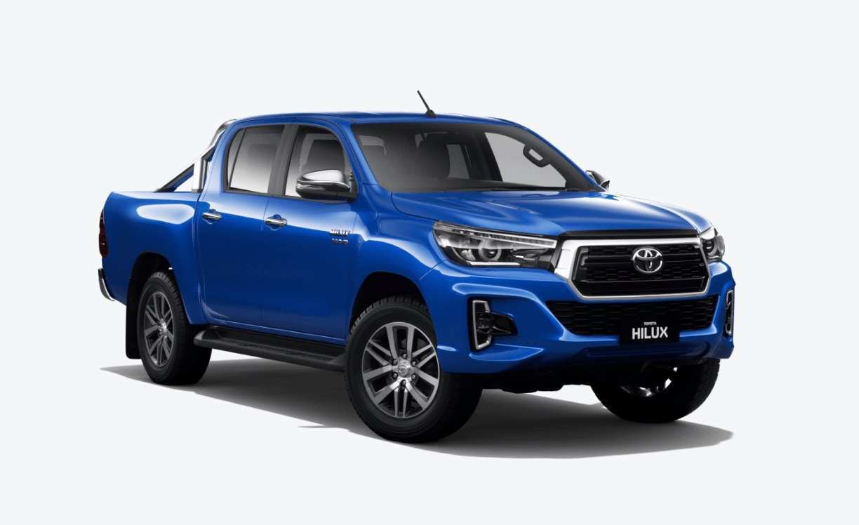 16 All New 2019 Toyota Hilux Spy Shots New Review