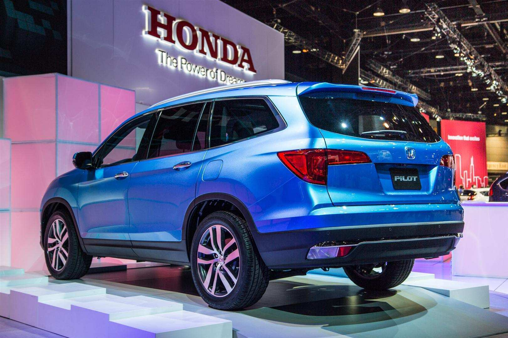16 All New 2020 Honda Pilot Spy Photos Prices