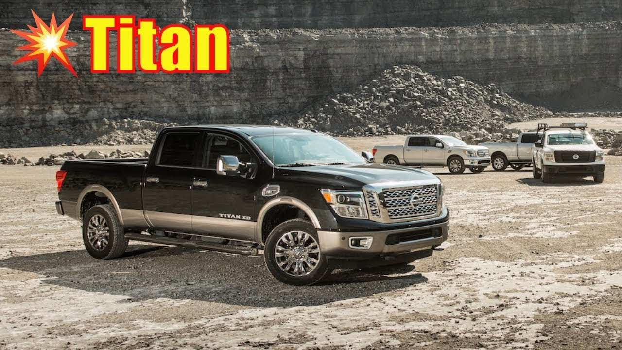 16 All New 2020 Nissan Titan Diesel Redesign And Concept