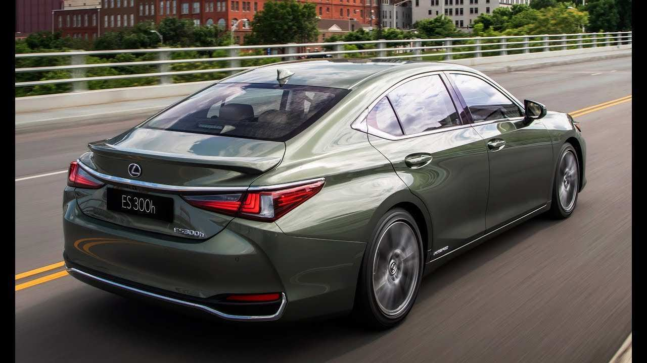 16 All New Es300 Lexus 2019 Exterior