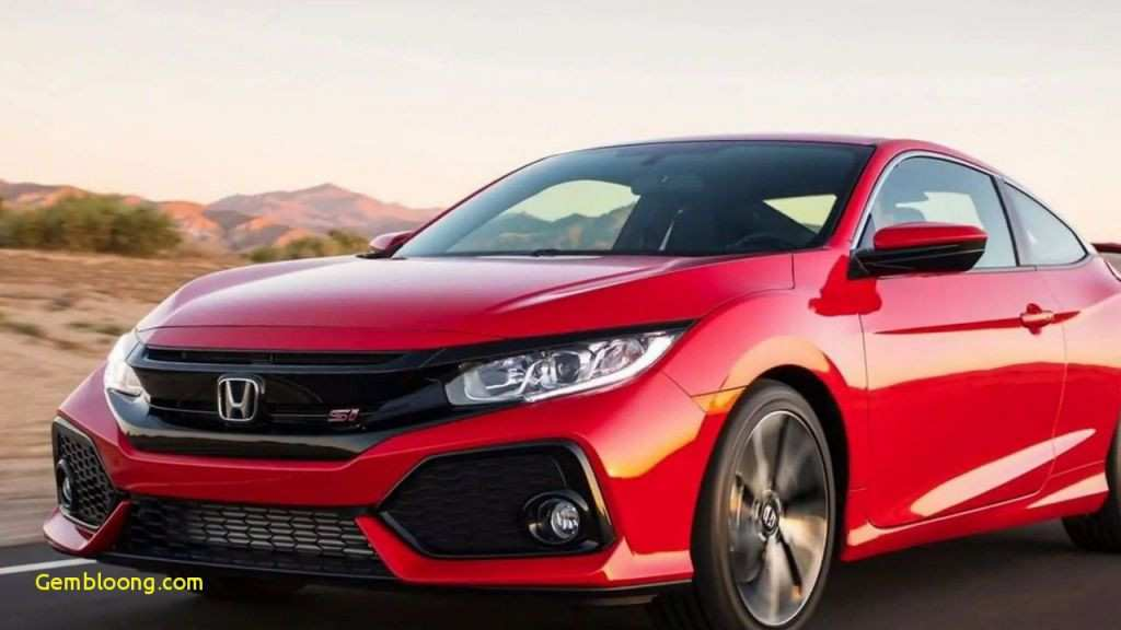 16 New 2019 Honda Accord Coupe Spirior Concept And Review