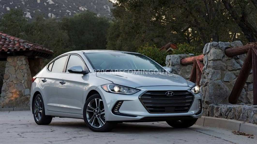 16 New 2020 Hyundai Elantra Spy Shoot