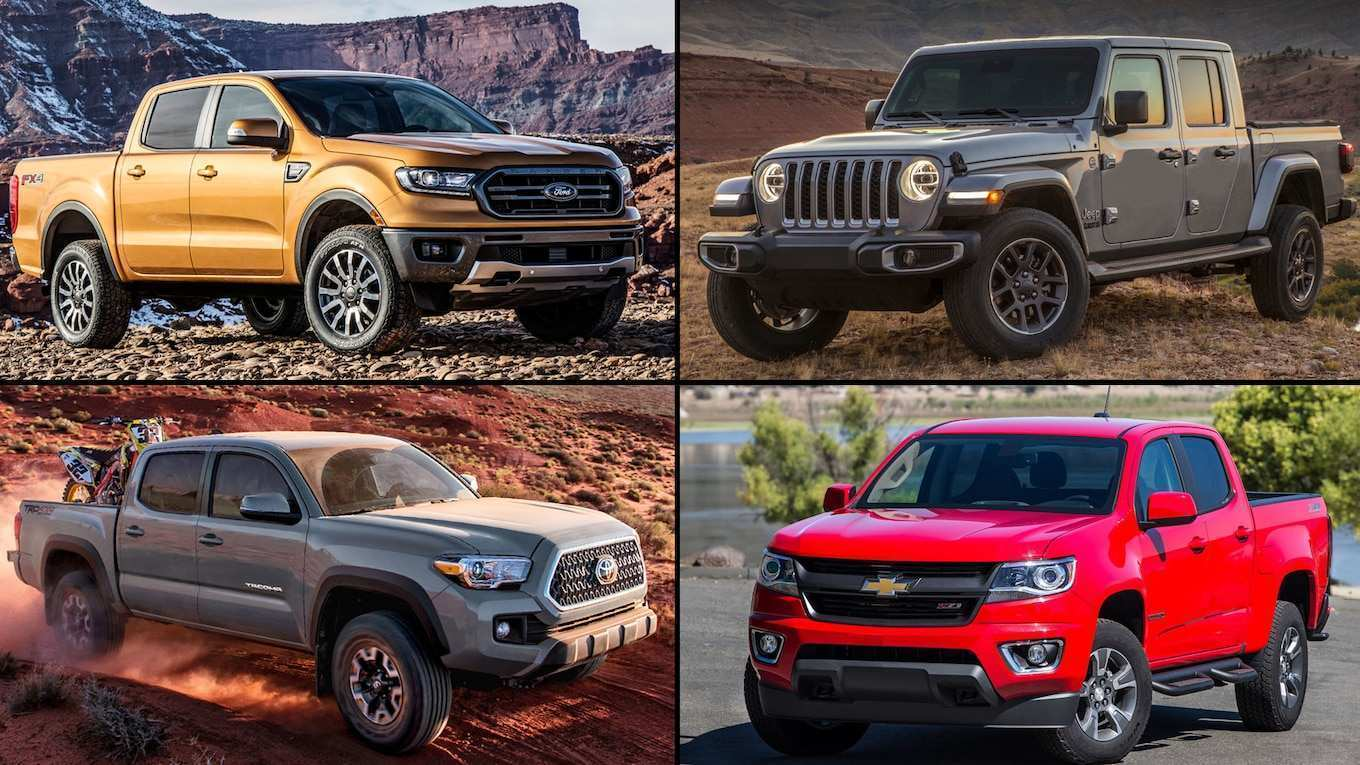 16 New 2020 Jeep Gladiator Vs Toyota Tacoma Price Design And Review