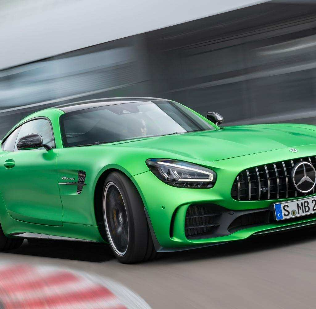16 New Mercedes Amg Gt 2019 First Drive