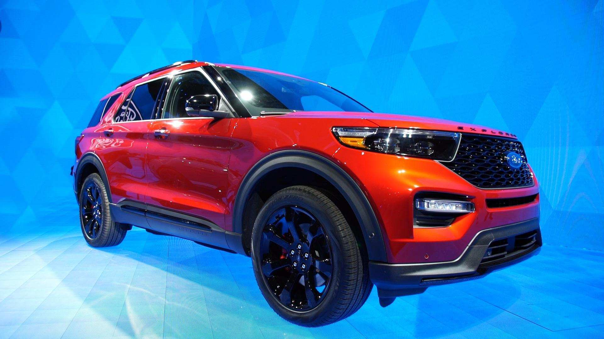 16 The 2020 Ford Explorer Sports Performance And New Engine
