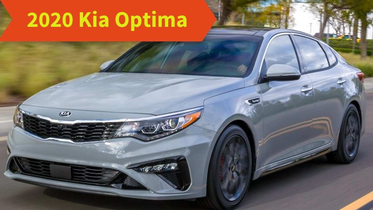 16 The 2020 Kia Optima Model