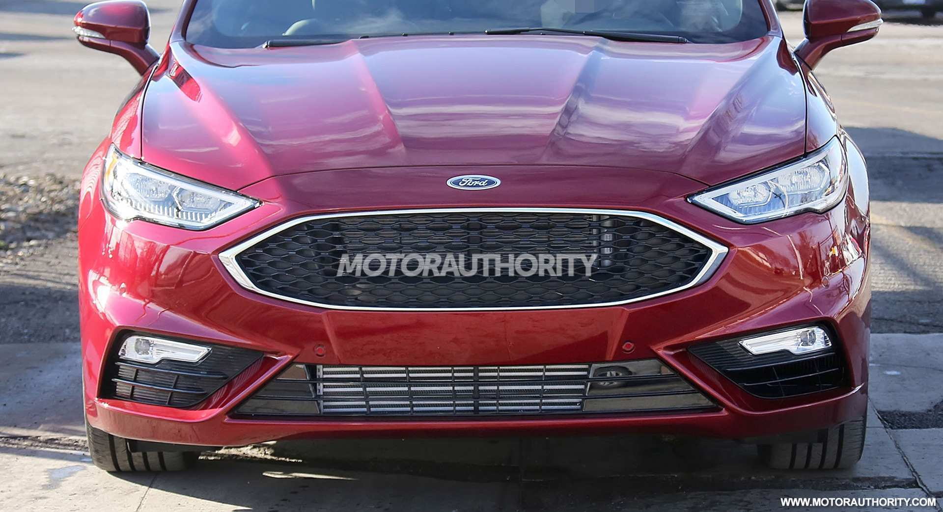 16 The Spy Shots Ford Fusion Research New