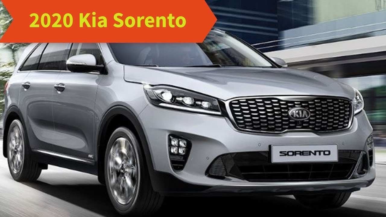 16 The When Does 2020 Kia Sorento Come Out Performance And New Engine