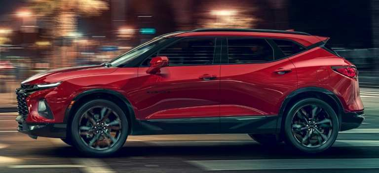 17 A 2019 Chevy K5 Blazer Model