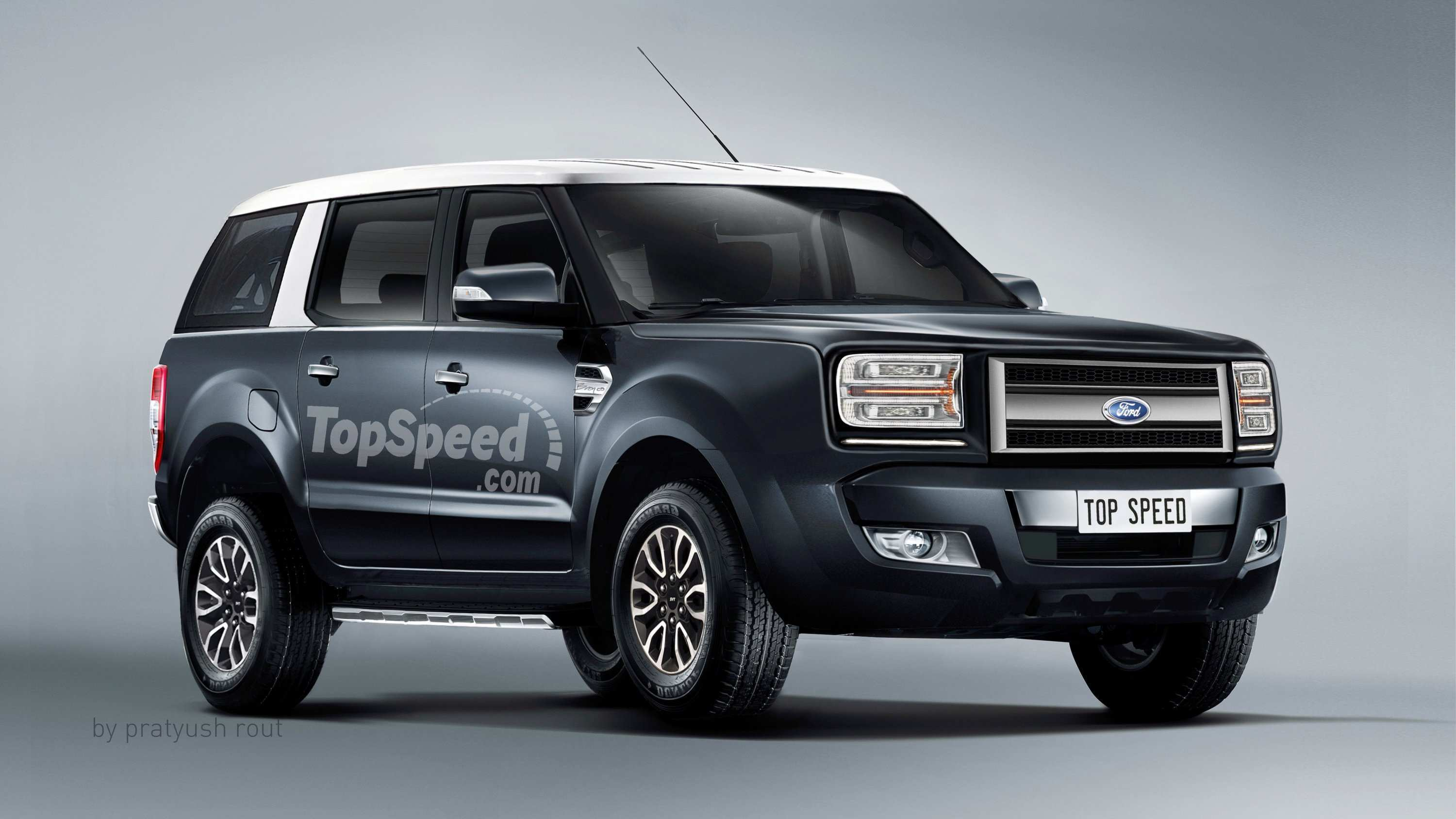 17 A 2019 Ford Svt Bronco Raptor Model
