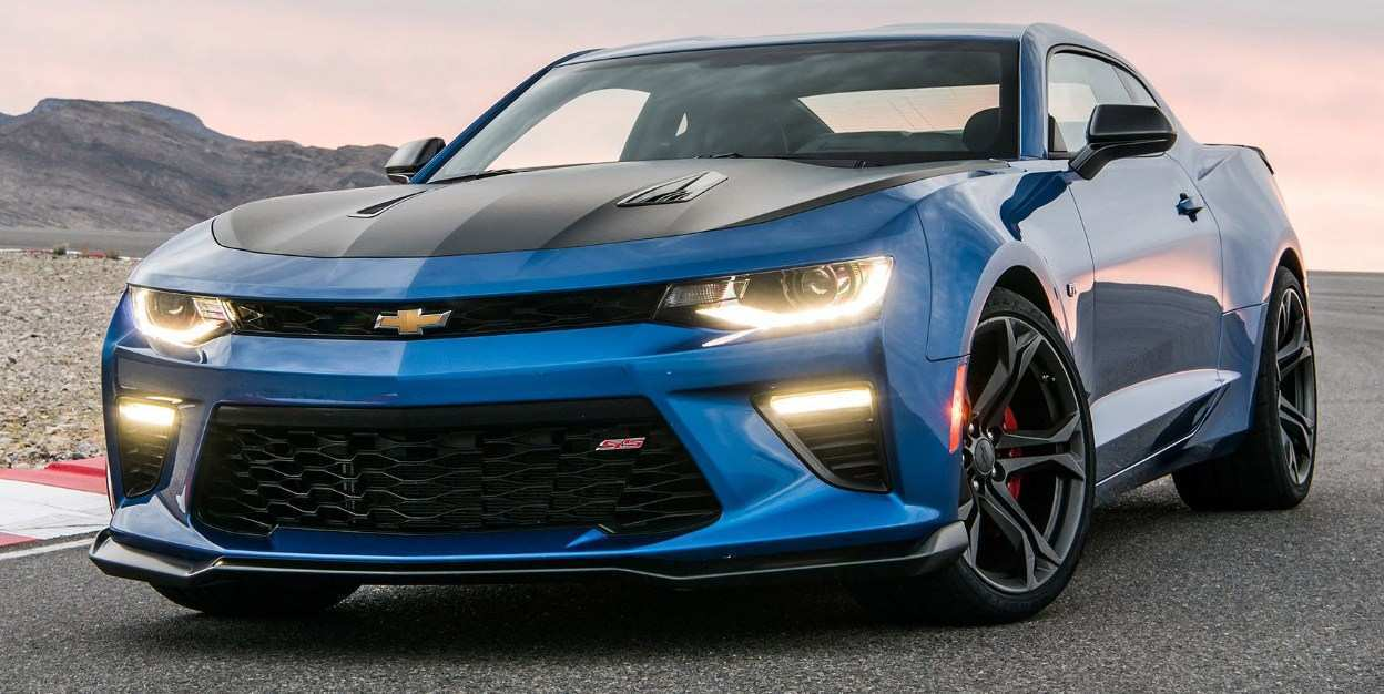 17 A 2020 Camaro Ss First Drive